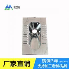 供应厕所便器 不锈钢蹲坑 水冲蹲便器