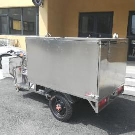 电动垃圾车 不锈钢垃圾转运车