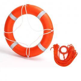 橡塑复合式实心免充气救生圈带反光带浮索、船用救生圈