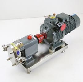 申银机械LQ3A医药级不锈钢转子泵 防爆无级调速转子泵制造商