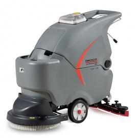 高美GM50B洗地机车间环氧地坪用地面清洗机工厂用擦地机