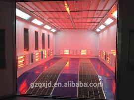汽�烤漆房 工�S特供QX1000A�能�h保型汽�烤漆房