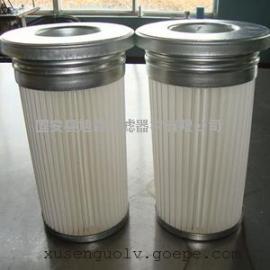 (旭森)不锈钢除尘滤芯_PET无纺布面粉厂车间净化配套除尘滤芯