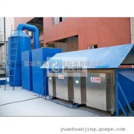 南沙垃圾转运站废气处理设备生物除臭YACC-10000M3