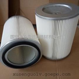 (旭森过滤)0.1μ不锈钢粉末回收滤筒高效除尘滤芯