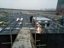 地埋式箱一体消防水箱/BDF抗浮地埋箱泵一体化
