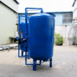 热销农村井水除铁锰过滤器解决井水发黄 立式A3碳钢罐厂家