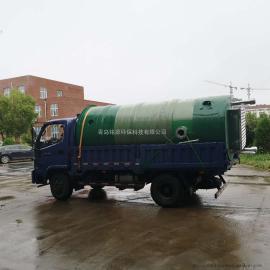 一体化预制泵站污水处理成套设备玻璃钢筒体污水提升设备厂家