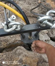 土石方建设液压岩石开山机