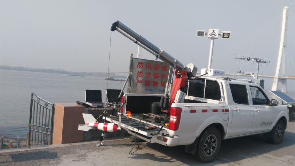 非接触式雷达测流车
