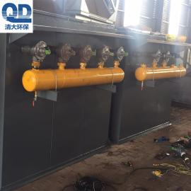 焊烟滤筒除尘器 阻燃滤芯滤筒除尘器 脉冲滤筒除尘器清大公司