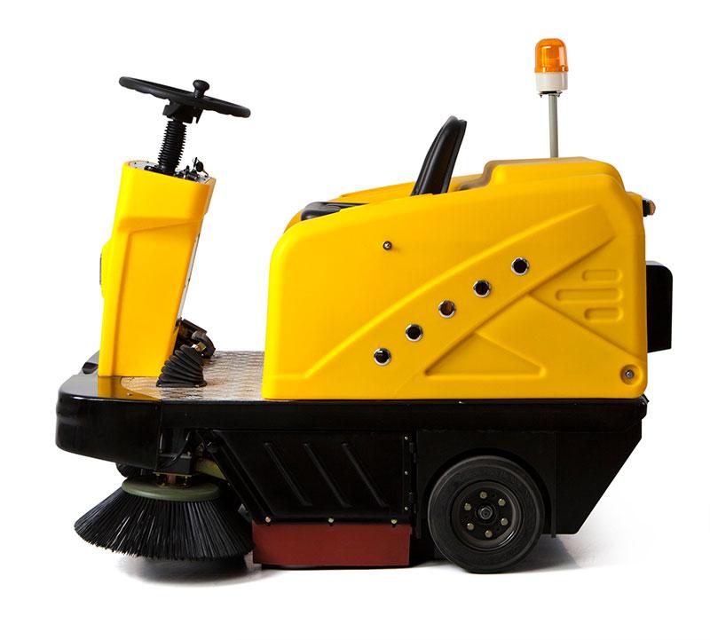 明诺工厂车间地面吸粉末用驾驶式扫地机MN-C200
