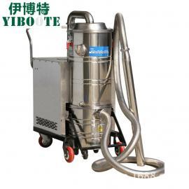 100升耐高温工业吸尘器钢铁化工厂机床配套工业吸尘机不锈钢桶式