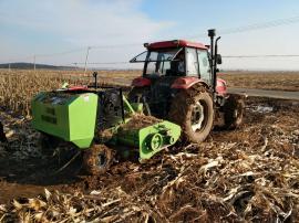 多功能玉米秸秆回收打捆机生产厂家 圣泰牌粉碎打捆一体机报价