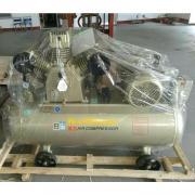 鹿泉现货开山活塞式12.5公斤电动空压机连续运转重载机头气泵