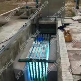 珠三角地区框架式紫外线消毒器 320W污水处理厂 杀菌消毒模块
