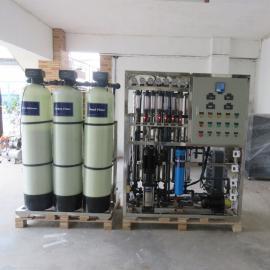 厂家热销玻璃钢EDI+纯水设备反渗透纯净水设备 找华兰达专业工厂