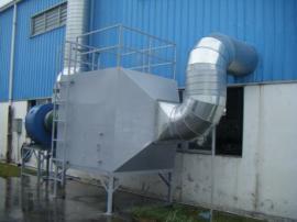 针对印刷厂废气处理设备