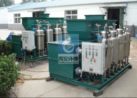 光学玻璃超声波清洗废水处理机械YACS-3T环保设备达标环保备案