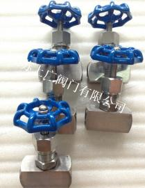 不锈钢内螺纹针型阀J13W-16P/25P/40P/64P