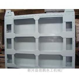 质量可靠钢闸门-钢制闸门规格-平板钢制闸门制造商