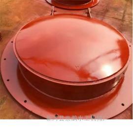 800圆形河道铸铁拍门,优质浮箱拍门