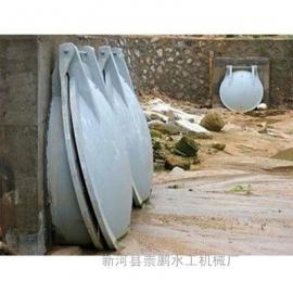 钢制拍门,性价比高的600圆形水库铸铁拍门