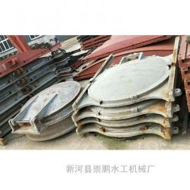 DN800铸铁拍门厂家,pm圆形拍门怎么安装