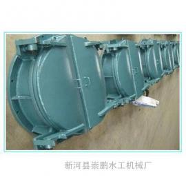 优质1000圆形水库铸铁拍门,圆形铸铁拍门dn1.5米厂家