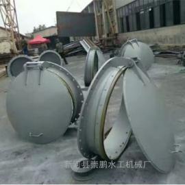 圆形钢制拍门怎么安装,圆形铸铁拍门dn700用途