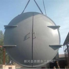 600圆形水库铸铁拍门供应商