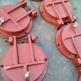 性价比高的圆形泵站铸铁拍门,250圆形水库铸铁拍门安装方法