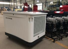 汉萨20千瓦三相静音汽油发电机