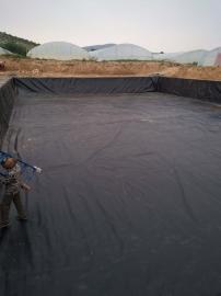 高密度聚乙烯沼气池土工膜 黑膜沼气池厂家