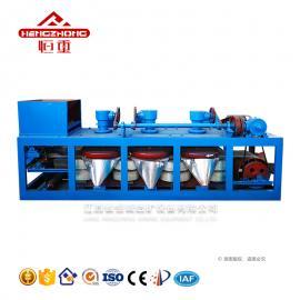 恒诚选矿全球供应磁选设备三盘磁选机作业率高