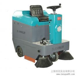 电瓶式全自动道路工业清扫车KL1050工厂物业小区用驾驶式扫地车