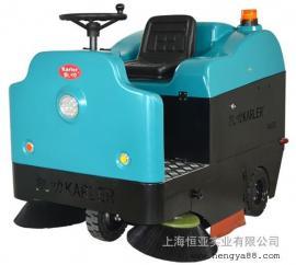 驾驶式小区物业用电瓶式扫地车环卫电动清扫车道路工厂粉尘