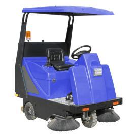 小区物业用驾驶式道路清扫车XZJ-1400 景区地面用扫地机