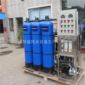 工业制药用水RO反渗透设备 德保食品厂制取纯水设备选清泽蓝蓝厂