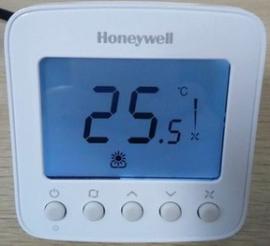霍尼韦尔液晶温控器TF228WN两管制中央空调风机盘管温控面板