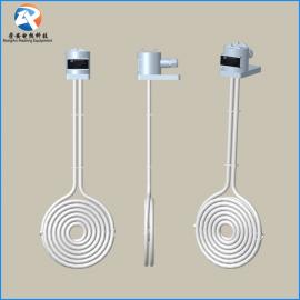 电镀PTFE铁氟龙发热管 直立蚊香型镀金铁氟龙电加热管 非标定制