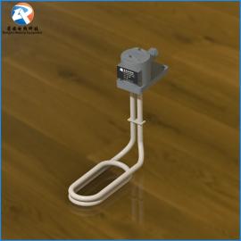 带温控铁氟龙发热管 电镀L型耐酸碱电热管 聚四氟乙烯电加热管