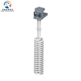 铁氟龙电热管 电镀3KW发热管 耐酸碱腐蚀螺旋型四氟电加热管