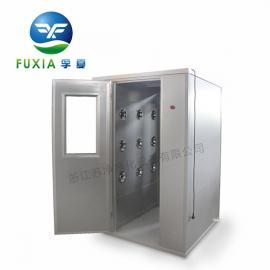 四人双吹风淋室FLB-2400 全自动风淋室价格