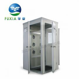 单人单吹转角风淋室FLB-1D 风淋室 全自动风淋室