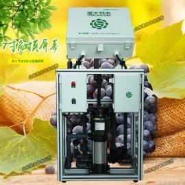 滴灌水肥一体化安装 自动操作果树施肥机选型触摸屏控制定时定量
