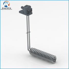 L螺旋型不锈钢发热管 304 316L 钛加热管电热管控温 定制