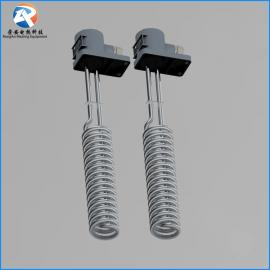 304不锈钢发热管 定制不锈钢螺旋温控电加热管 316L 钛加热管