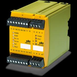 pilz皮尔磁PNOZelog安全继电器调试安装