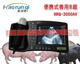 兽用B超HRQ-3000AV,维修动物B超,维修机械探头